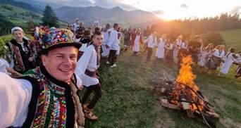 Магия гор: Дмитрий Комаров праздновал Ивана Купала в месте невероятной красоты – видео