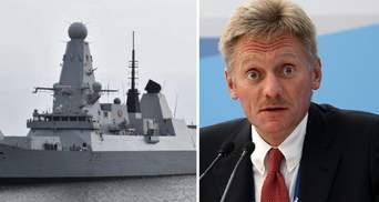В Кремле пригрозили повторением ситуации с британским эсминцем