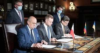 """""""Люблінський трикутник"""" може створювати карту інтеграції України в НАТО і ЄС, – Кубілюс"""