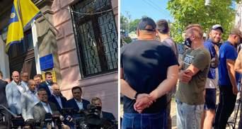 Медведчуку мають продовжити домашній арешт: під судом зібралися тітушки Киви – фото