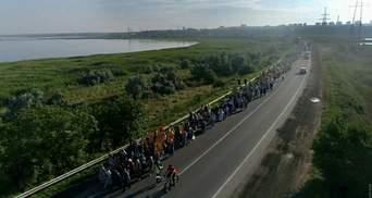 Московский патриархат устроил транспортный коллапс: стоит объездная Одессы – видео