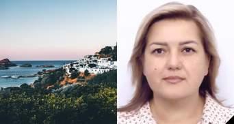Трагическое купание: на отдыхе в Греции погибла судья из Черкасской области