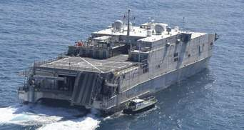 Транспортно-десантный корабль США вошел в Черное море: россияне обеспокоены