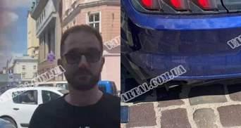 У Львові нардеп Юрченко на Mustang скоїв аварію і напав на водія