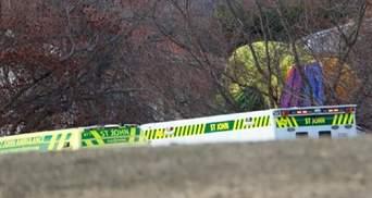 В Новой Зеландии упал воздушный шар: пострадали много людей