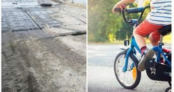 Перелетів через велосипед: на Рівненщині підліток загинув на аварійному мосту