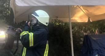 В центре Одессы в кафе вспыхнул пожар