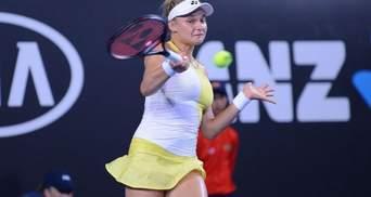 Ястремская потерпела сенсационное поражение в полуфинале турнира WTA
