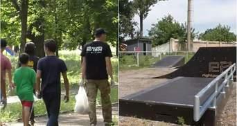 Вернулись на Восток: ветераны обустроят скейт-парк для детей Луганщины