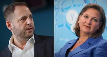 Визит Зеленского в США: Ермак и заместитель Блинкена обсудили план