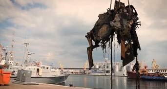 Украинские и американские водолазы подняли со дна Черного моря обломки любимого катера Брежнева