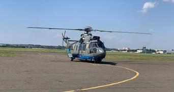 Для бойових завдань: Нацгвардії передали сучасний вертоліт Airbus – фото, відео