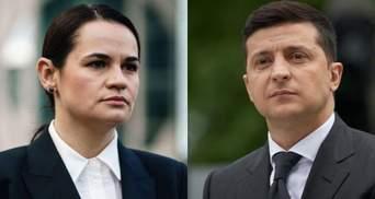 Неформальная встреча Зеленского и Тихановской: Кулеба рассказал детали