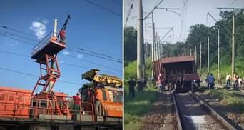 Железнодорожная авария под Киевом: движение поездов восстановили, но задержки еще возможны