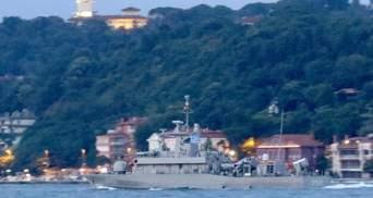 Боевой корабль Греции зашел в Черное море: фото