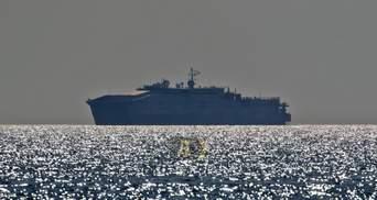Военный корабль США, который вызвал истерику у россиян, зашел в порт Одессы