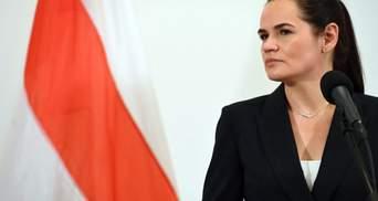 Литва офіційно відмовила Білорусі видати Тихановську