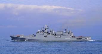 Россия планирует отработать в Черном море ракетные удары