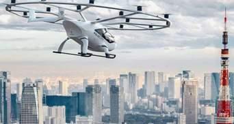 У Японії запрацює сервіс аеротаксі вже до 2025 року