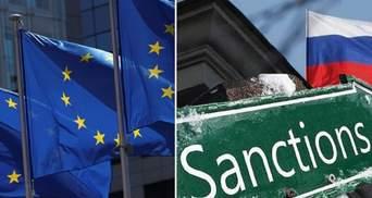 Євросоюз знову продовжив санкції проти Росії за агресію в Україні
