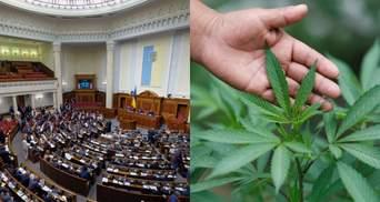 Рада не поддержала легализацию медицинского каннабиса
