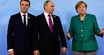 Несправедливо, – Зеленский о желании Меркель и Макрона встретиться с Путиным
