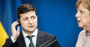 """Украина останется транзитером газа, несмотря на """"Северный поток-2"""", – Меркель к Зеленскому"""