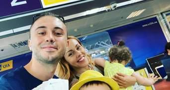 Alyosha і Тарас Тополя полетіли на відпочинок з трьома дітьми: миле фото