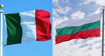 Перепутали с итальянским: разъяренные английские фанаты сорвали болгарский флаг с посольства