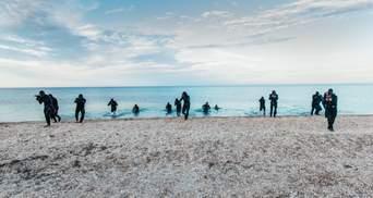 Нацгвардия показала мощные кадры с тренировок своих водолазов: фото, видео