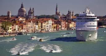 Італія заборонила великим круїзним лайнерам заходити до центру Венеції після погрози ЮНЕСКО