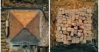 Как никто раньше: Украинский фотограф снял пирамиду Хеопса в необычной перспективе