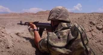 Зі сторони російських миротворців: Азербайджан заявив про обстріл біля звільненої Шуші