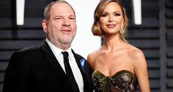 Джорджина Чапман официально рассталась со скандальным Харви Вайнштейном