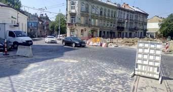 В рамках реконструкции улицы Бандеры во Львове перекроют часть Городоцкой