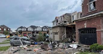 Біля Торонто пронісся потужний торнадо: є постраждалі – фото, відео руйнувань