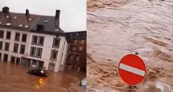 Руйнівна повінь у Європі зачепила Бельгію: загинули люди – жахливі відео