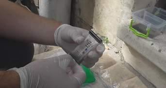 В центре Львова у мужчины изъяли наркотики на пол миллиона гривен: фото и видео
