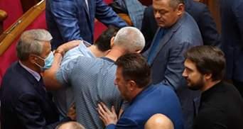 """Драка в Раде: подрались """"слуга"""" Сольский и Ивченко – видео, фото"""