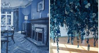Британский художник создает из джинса невероятные произведения искусства