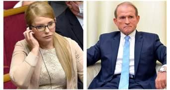 """""""Батьківщина"""" Тимошенко і ОПЗЖ Медведчука блокують судову реформу, – Шабунін"""