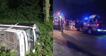 Що відомо про стан потерпілих в аварії автобуса Київ – Вроцлав на Рівненщині