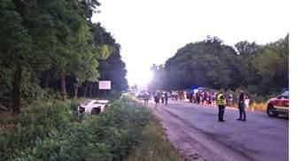 ДТП з автобусом Київ – Вроцлав на Рівненщині: у поліції назвали причини аварії