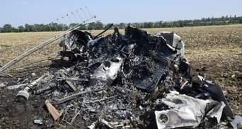 Падение вертолета Ми-2 на Николаевщине: видео с места катастрофы