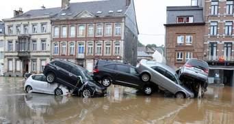 У Бельгії повінь забрала щонайменше 20 життів, стільки ж людей зникли безвісти