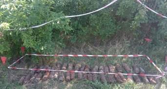 На стройплощадке в Николаеве спасатели нашли более 150 снарядов