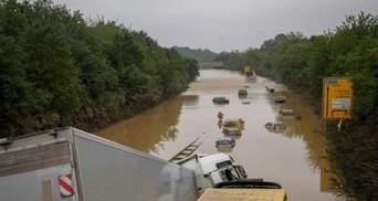 Между Германией и Чехией прекратили железнодорожное сообщение из-за мощного наводнения