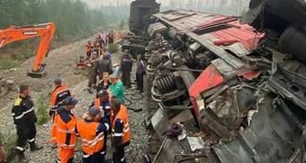 В России лоб в лоб столкнулись 2 грузовых поезда: есть жертвы – жуткие фото, видео