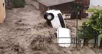 Наводнение добралось до Австрии: спасатели готовятся к худшему