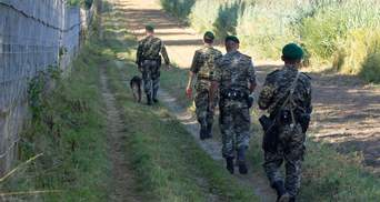На границе с Россией напали на украинских пограничников